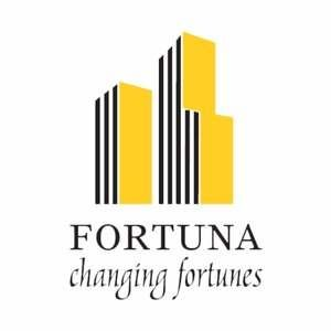 Fortuna Wind Flower Logo