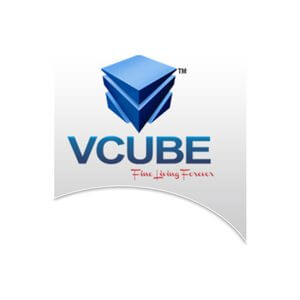 Divyam V-Cube Vault Logo